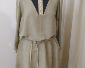 Dove gray tunic