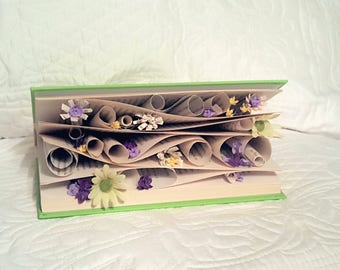 Swirls of Flowers book art