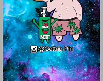 Bad Patrick Pin