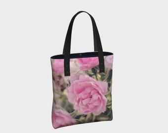 Rose Basic Tote Bag