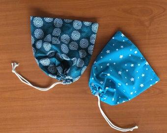 Trio of loose Zero waste bag