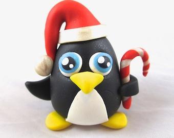 Christmas Penguin Sculpture