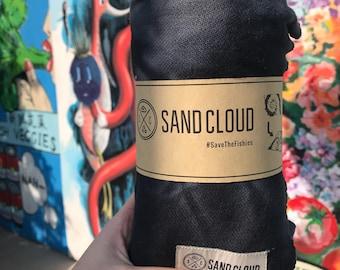 Sand Cloud Towel // Handmade Acid Wash  // Tie Die Blanket // Beach Towel
