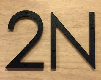 3 inch Modern House Numbers Letters