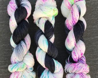 Jinxed - Hand Dyed Superwash Sock Yarn