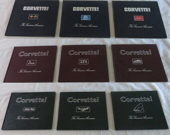 SALE!!!  Corvette! The Sensuous American, 9 volumes, first 3 years of publication, FREE SHIPPING