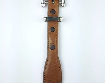 Native American Navajo handmade Sterling Silver ranger set belt buckle
