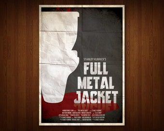 Full Metal Jacket Poster (Multiple Sizes)