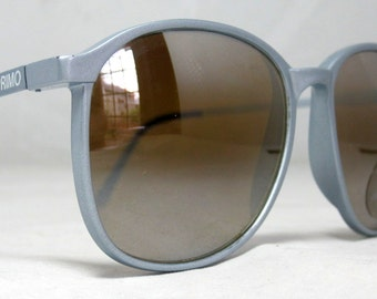 Vintage 80s Large Siver Sunglasses