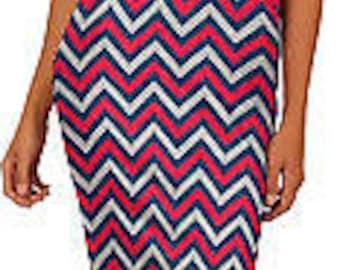 ProSphere Women's University of Southern Indiana Chevron Dress (USI)