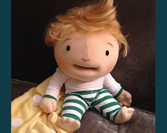 Custom Professional Puppet Portrait Puppet Baby puppet !