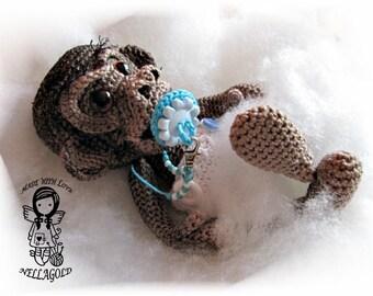 Crochet PATTERN, Toy, Realistic Baby Monkey, Crochet amigurumi pattern, Doll, DIY Pattern 74