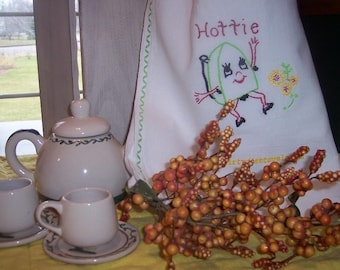 Hottie Dish Towel
