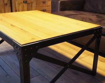Coffee Table Vintage Industrial Design