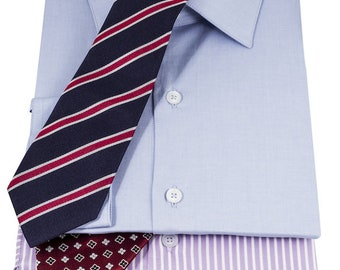 Pack 3 Pima cotton shirts