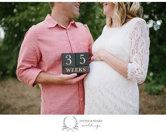 Weeks Pregnant - Countdown - Countup - Baby Countdown