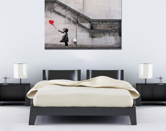 Banksy There is always Hope Street art Canvas 36 x 24 Giclee Print Balloon Girl