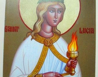 Saint Lucy the Virgin-Martyr