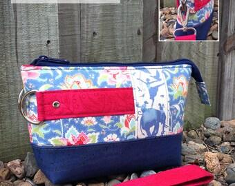 Clutch bag pattern, clutch pattern, clutch purse pattern, Classic Clutch, small bag, small purse, small clutch