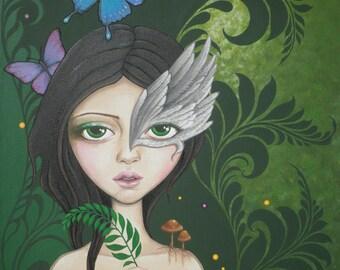 Lush green, art print