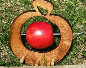 Fruit Birdfeeder Apple Shape  BUILT TO ORDER