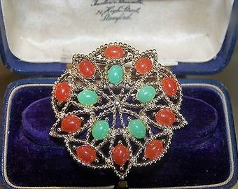 Vintage Flower Brooch/Pin - by Sarah Coventry