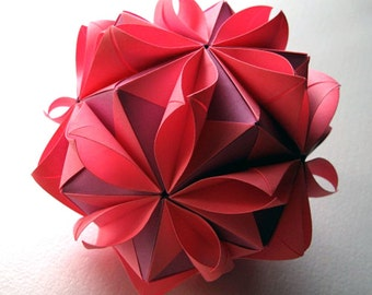 Origami flower ball etsy origami flower ball mightylinksfo