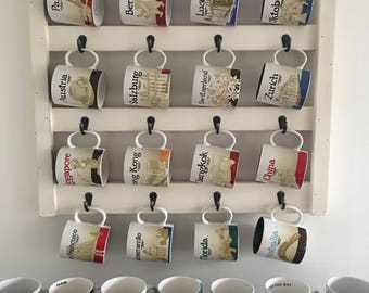 Coffee Cup Holder - Coffee Mug Rack - Mug Rack- Cup Holder - Kitchen Wall Decor - Coffee Mug Holder - Coffee Cup Rack - Cup Rack - Decor