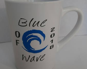 Political Blue Wave Coffee Mug