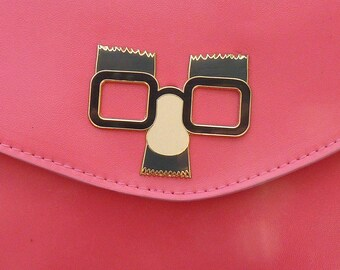 Funny Face fuschia Handbag