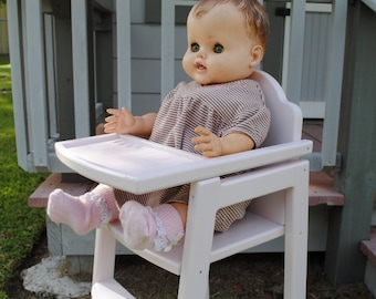 Doll High Chair - Ready to Ship