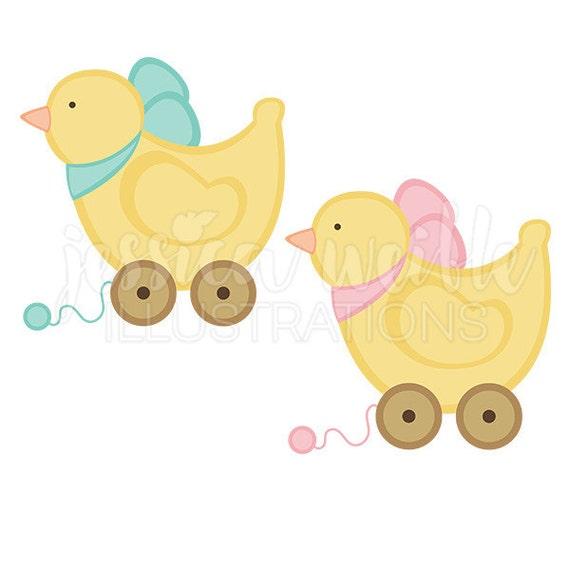 Baby Toy Duck Cute Digital Clipart Baby Duck Clip art Ducky