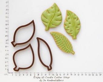 Green Leaves Cookie Cutter Set (budget cutters)