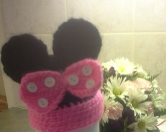 Newborn minny hat