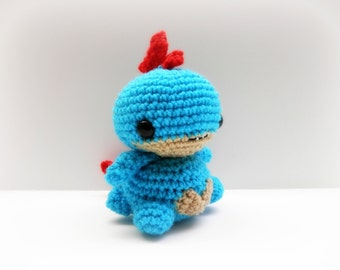 Crochet Feraligatr Inspired Chibi Pokemon
