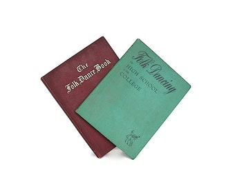 Folk Dance Instruction Books - Folk Dance Gift - Folk Music Gift - Traditional Dances - Dance Teacher Gift - Ethnic Dance - Dance Decor