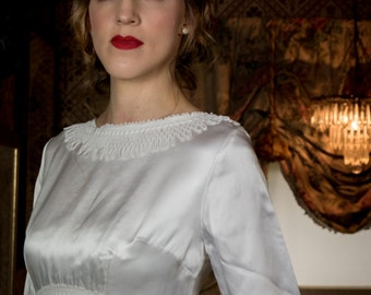 Kimberley 1960s Vintage Wedding Dress
