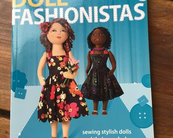 Doll Fashionistas Creating one of kind faces Dolls and Wardrobe DVD included