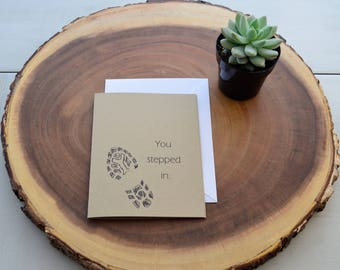 Father's Day Card for Step Dad, Step Dad Fathers Day Card, Like a Dad Father's Day Card, Fathers Day Card, Bonus Dad Card, Stepdad Card