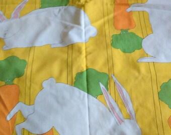 2 Yards Vintage 1970's Carlton Varney Honey Bunny Fabric