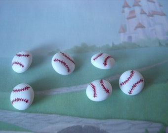 Baseball Novelty Buttons