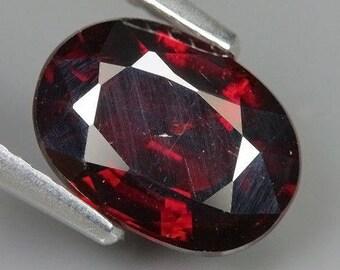 2.50 Ct Natural Africa Dark Red SPESSARTINE GARNET