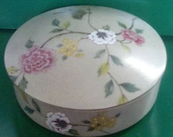 Jewelry Dish with Flowers and Bird