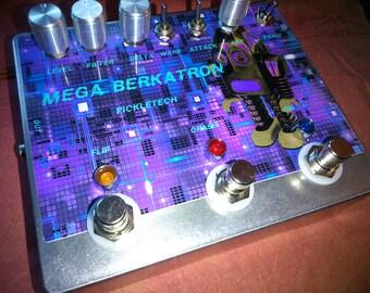 Pickletech - MEGA-BERKATRON - fuzz/noise/drone/synth/chaos/oscillator pedal