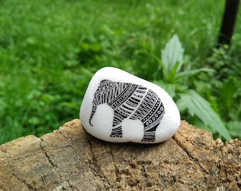 Elephant Gifts Bohemian Home Decor Boho Decorations Stone Gift for Elephant lovers
