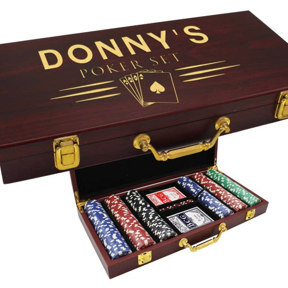 Personalised poker gift set procter and gamble manufacturer coupons