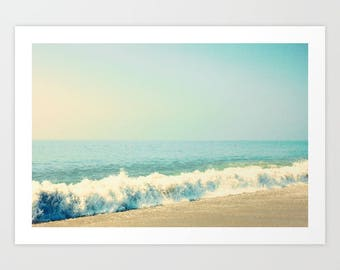 Beach photography, mothers day gift, extra large wall art, beach canvas art, beach print, beach prints, pink, beach umbrella wall art canvas