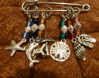 Beach Lover Stitch Markers