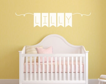 Name Wall Decal - Nursery Wall Decals - Wall Decals for Kids - Wall Decals for Nursery - Personalized Wall Decals - Baby Wall Decals - Decal