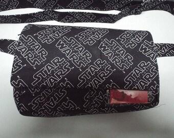 Fanny Pack Bag - Utility Bag - Jogging Bag - Hip Bag - Travel Bag - Festival Bag - 3 Options Available - Star Wars Fabric